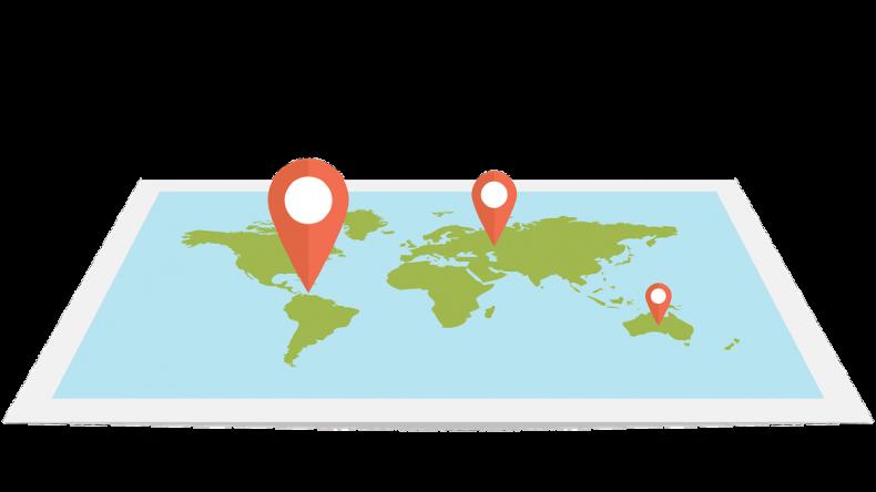 Mapa de busqueda de propiedades y ubicaciones